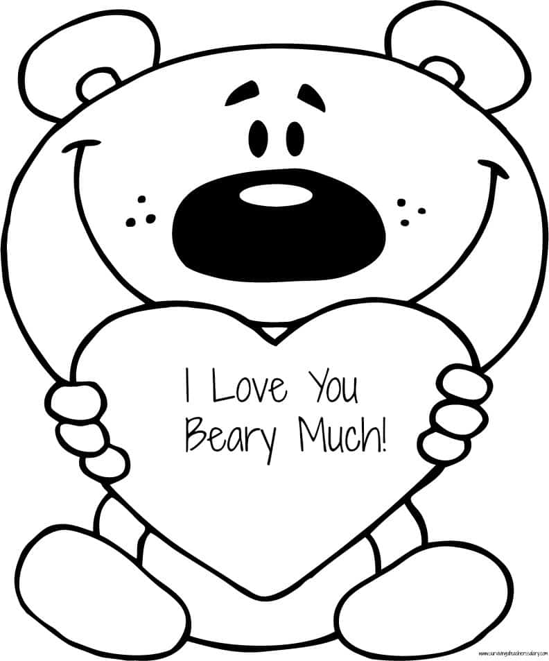 i love you printable coloring pages printable valentines day i love you card coloring pages pages i love printable you coloring