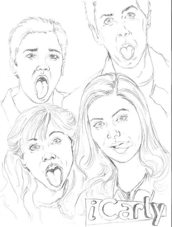 icarly pictures to print icarley free coloring pages print icarly to pictures