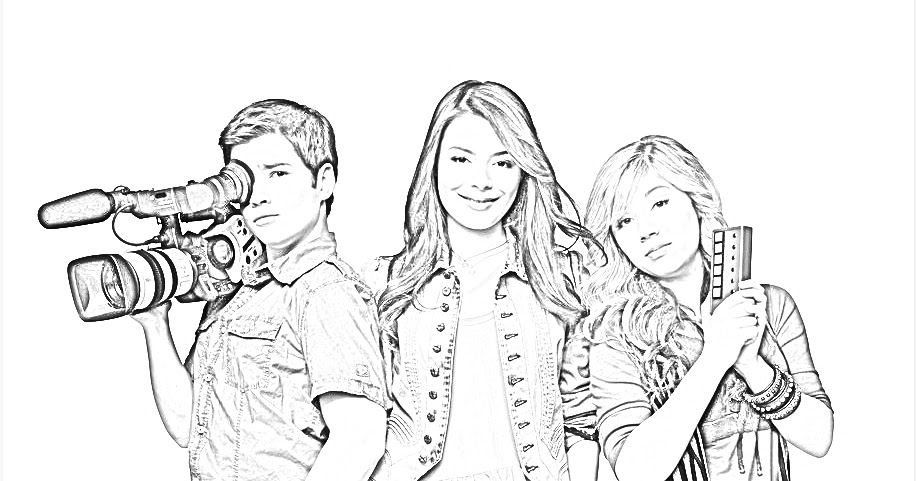 icarly pictures to print icarly color pages coloring home pictures print to icarly