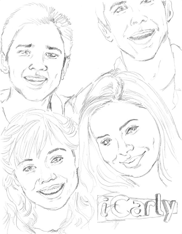 icarly pictures to print icarly coloring page coloring home pictures print to icarly