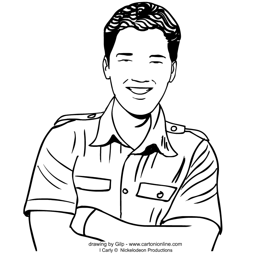 icarly pictures to print icarly coloring pages print to pictures icarly