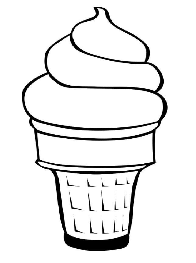 ice cream coloring template ice cream cone coloring sheet best of printable pages cream ice coloring template