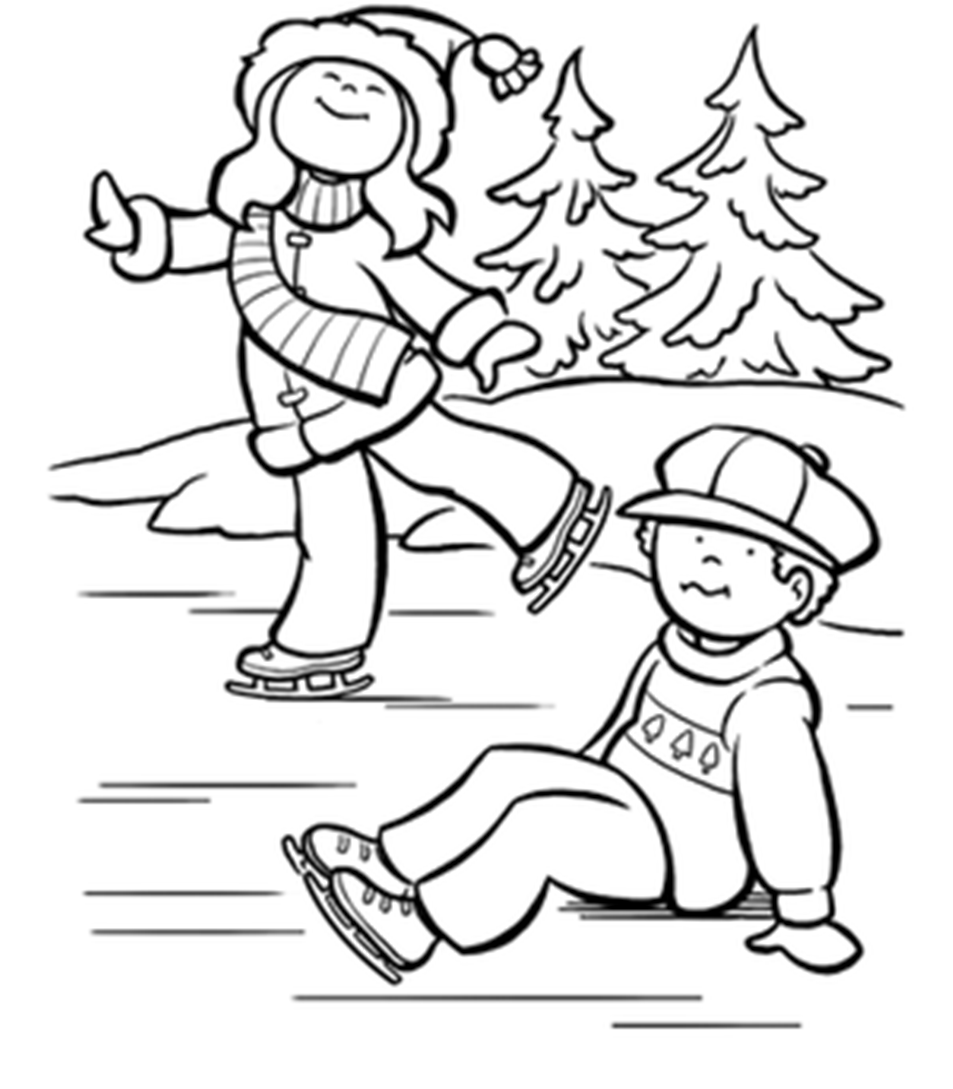 ice skating coloring pages printable figure skating coloring page free printable coloring pages pages ice printable coloring skating