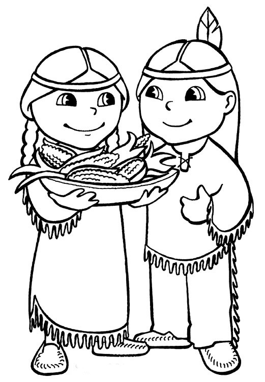 indian coloring pages thanksgiving coloring pages native american indian indian pages coloring