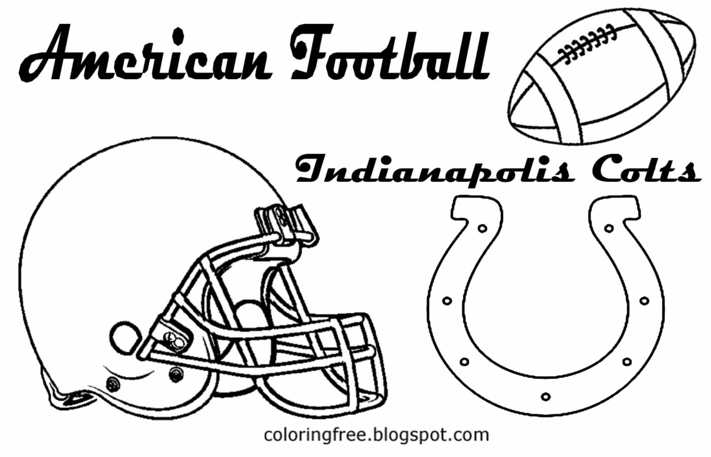 indianapolis colts coloring pages 30 free nfl coloring pages printable pages coloring colts indianapolis