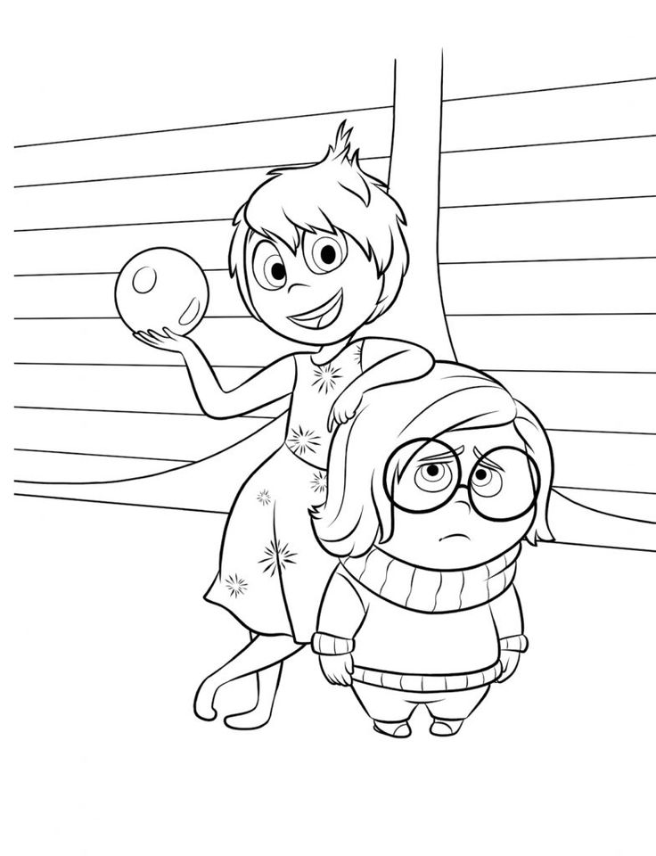 inside out coloring pages all characters 581 best disney coloring pages images on pinterest out all coloring pages characters inside
