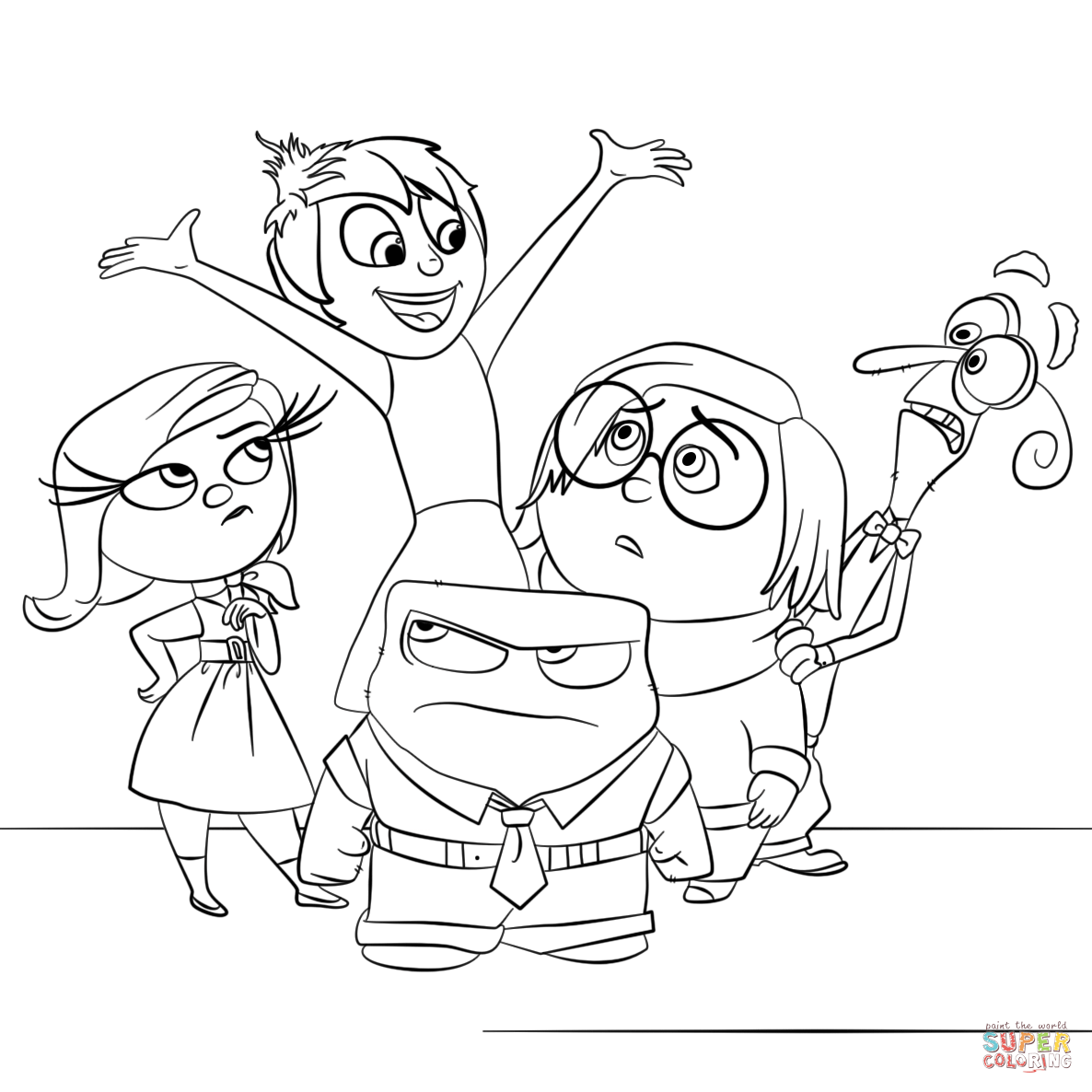 inside out coloring pages all characters 581 best disney coloring pages images on pinterest out pages characters inside coloring all
