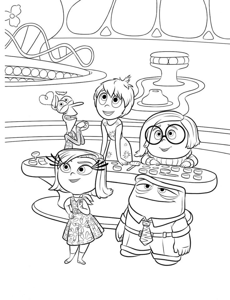 inside out coloring pages all characters get this free inside out coloring pages disney printable characters inside pages out coloring all