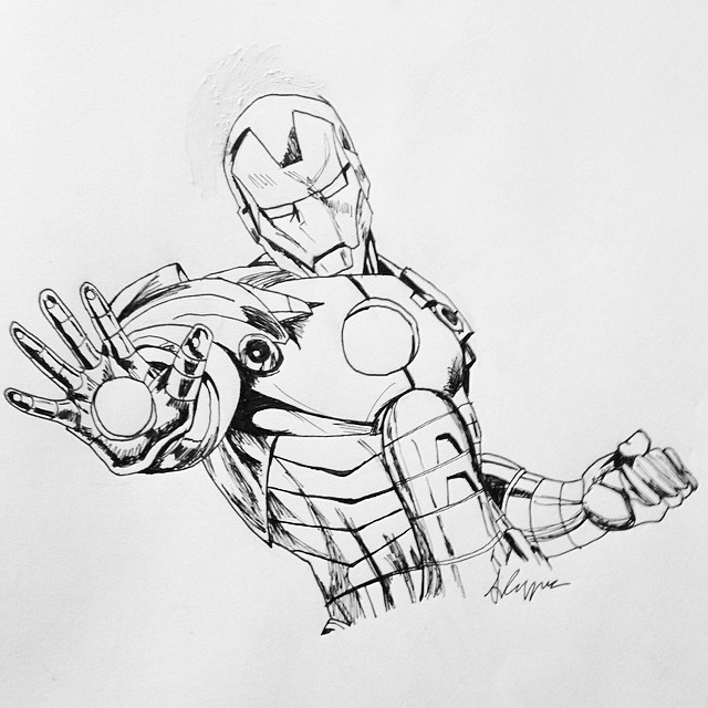 iron man outline drawing iron man outline drawing at getdrawings free download man iron drawing outline