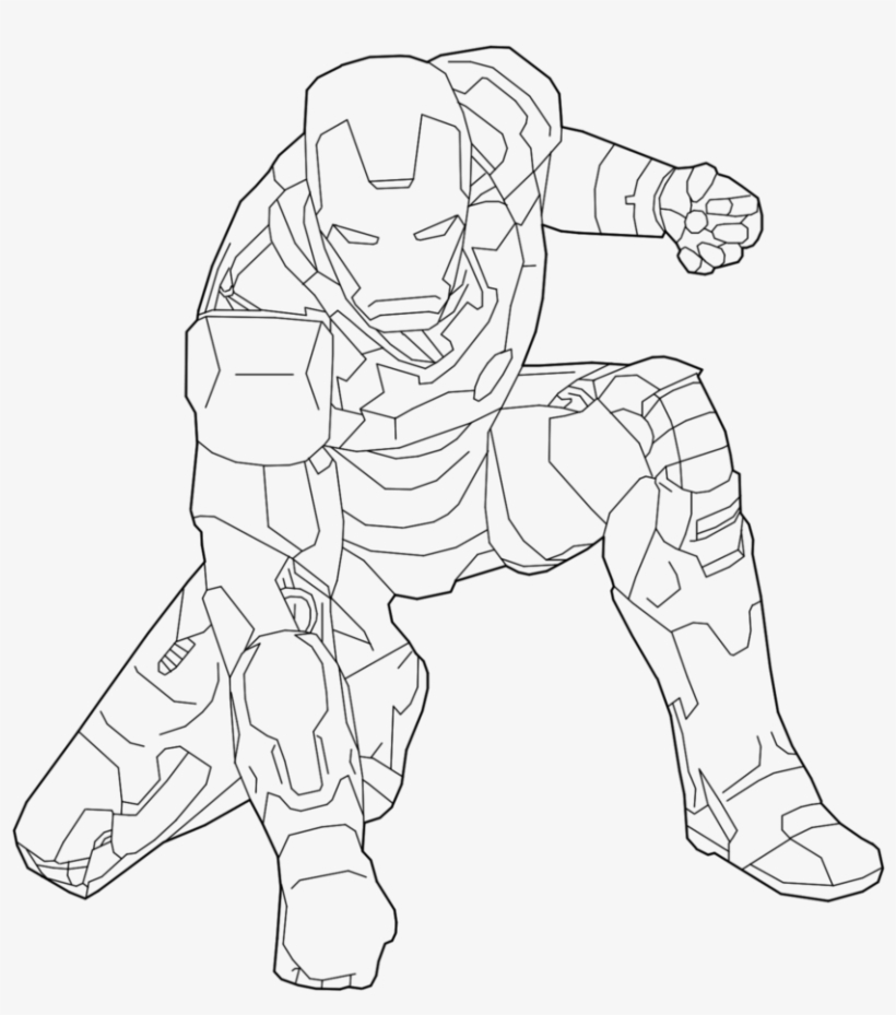 iron man outline drawing ironman head outline clipart best drawing man iron outline