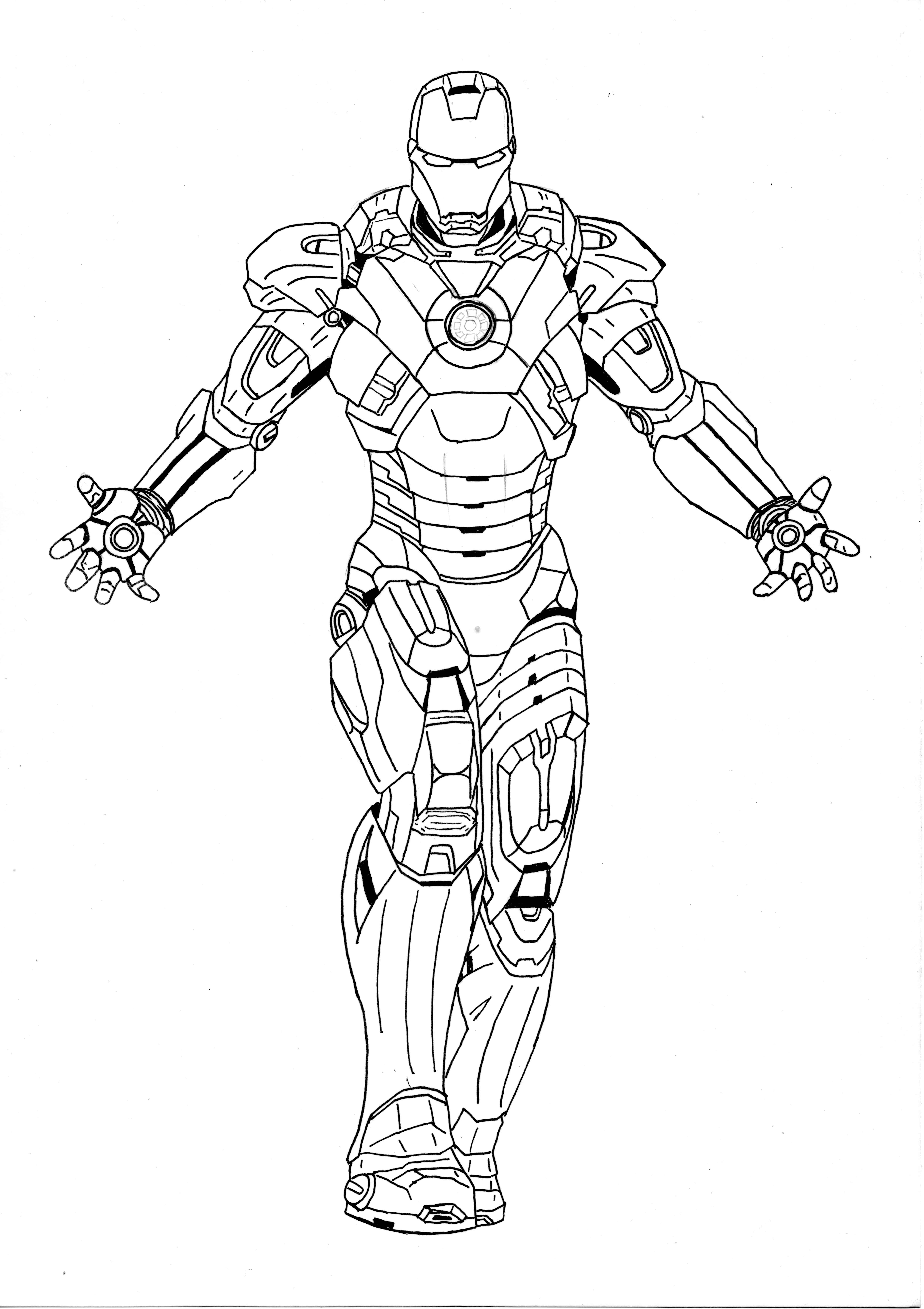 iron man outline drawing man outline drawing at paintingvalleycom explore outline drawing iron man
