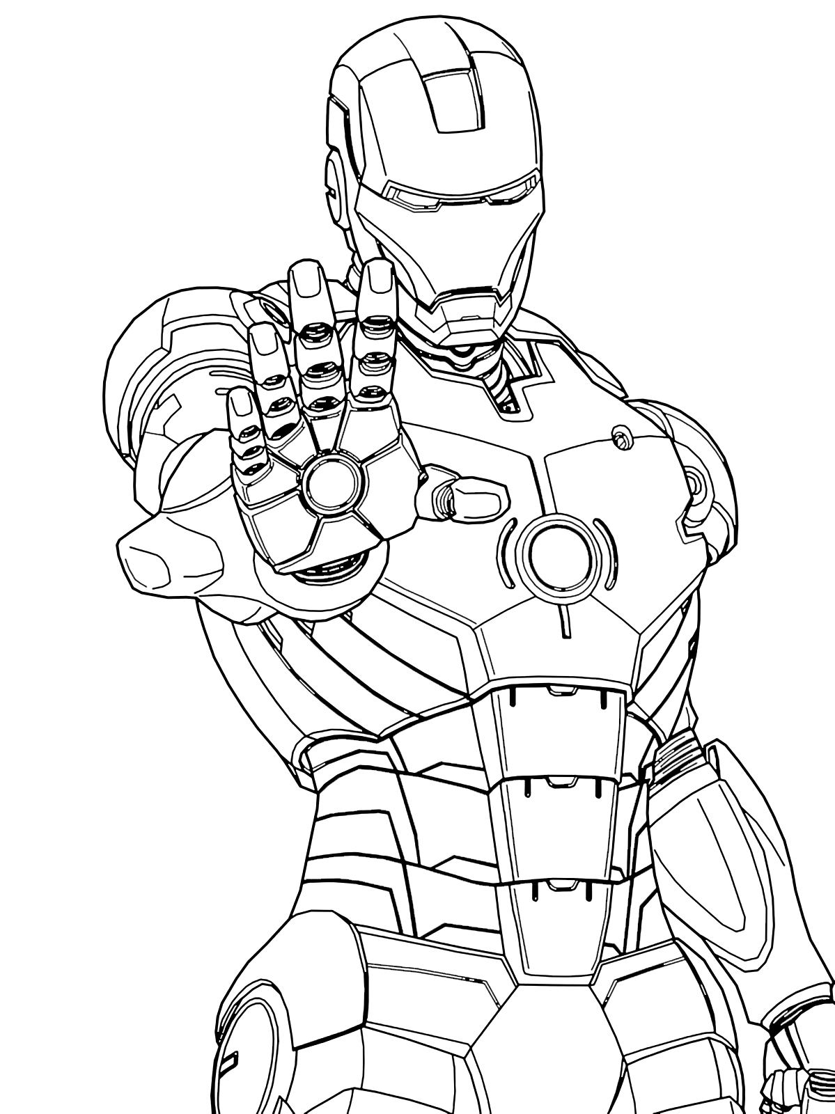 ironman coloring sheets iron man to color for children  iron man kids coloring pages sheets ironman coloring