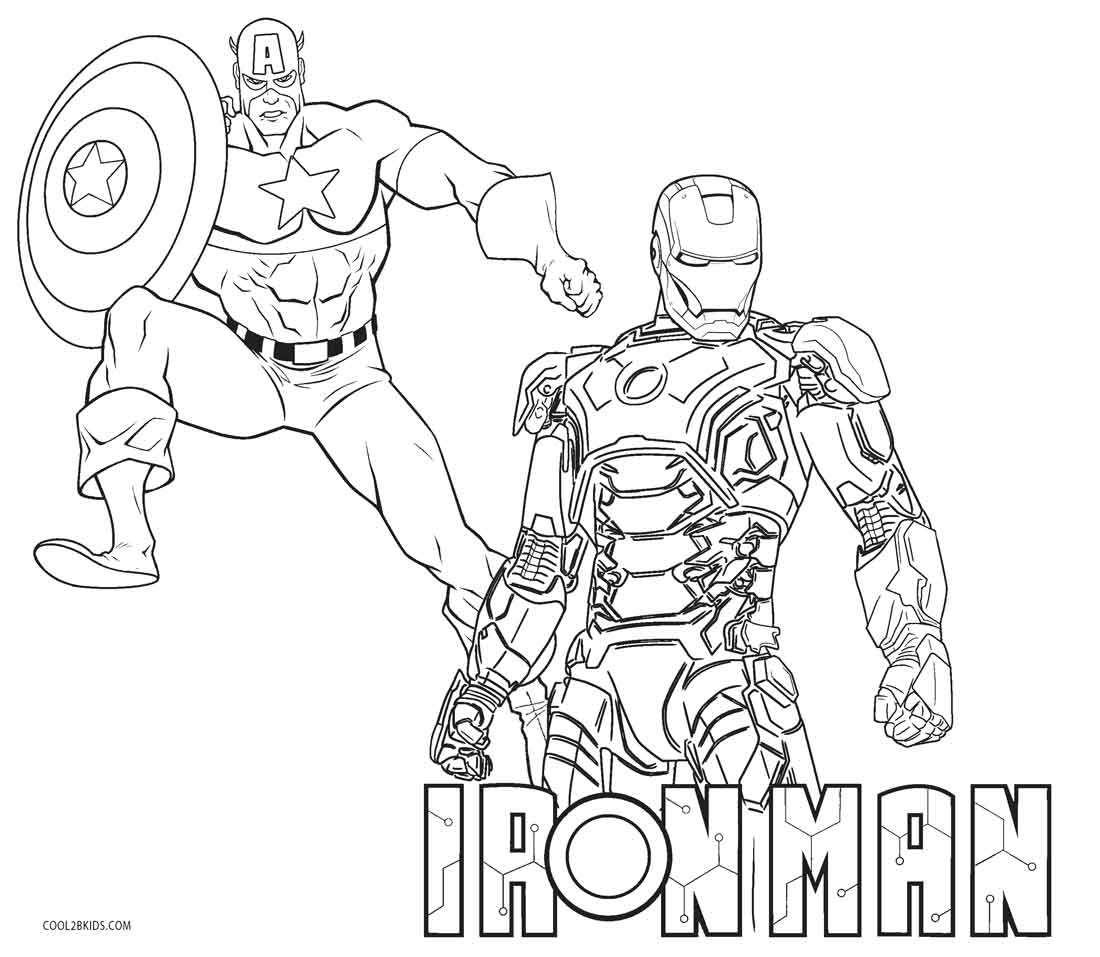 ironman colouring coloring pages for kids free images iron man avengers colouring ironman