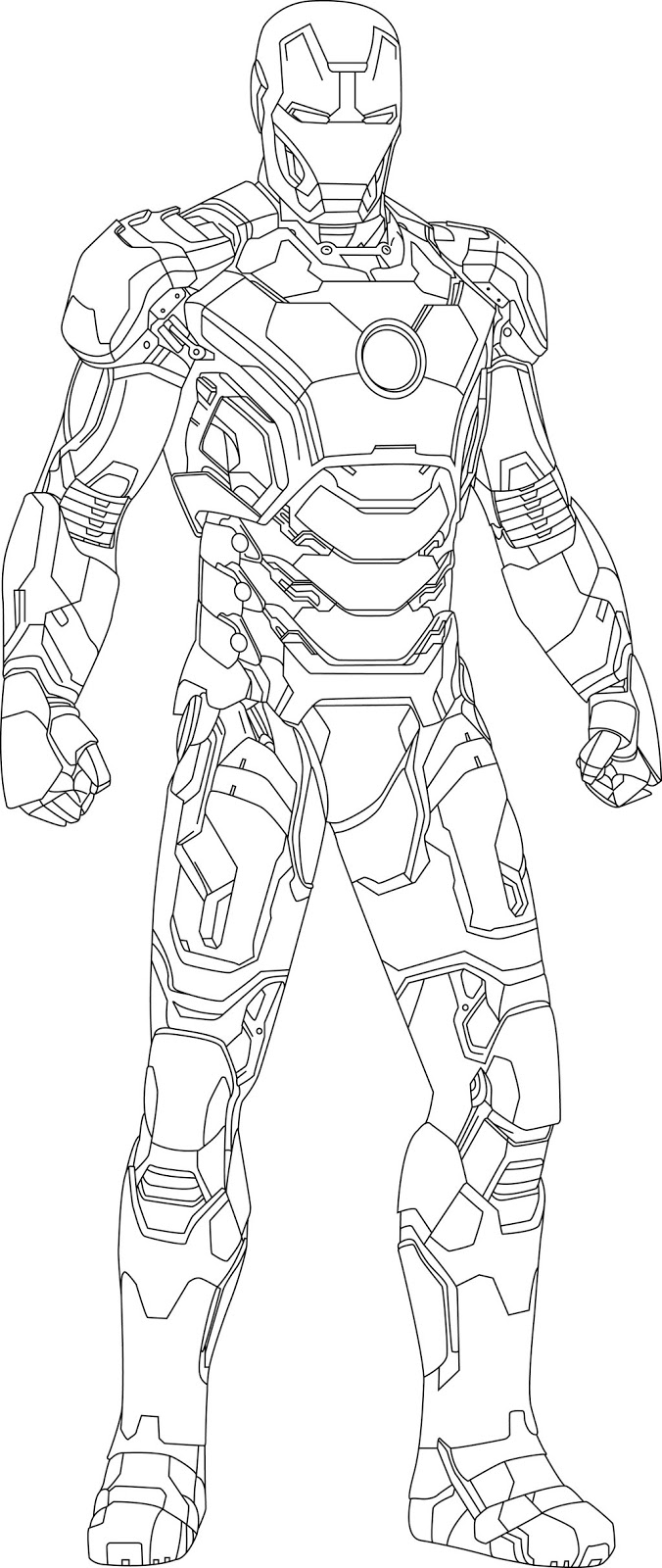 ironman colouring free printable iron man coloring pages for kids colouring ironman 1 3