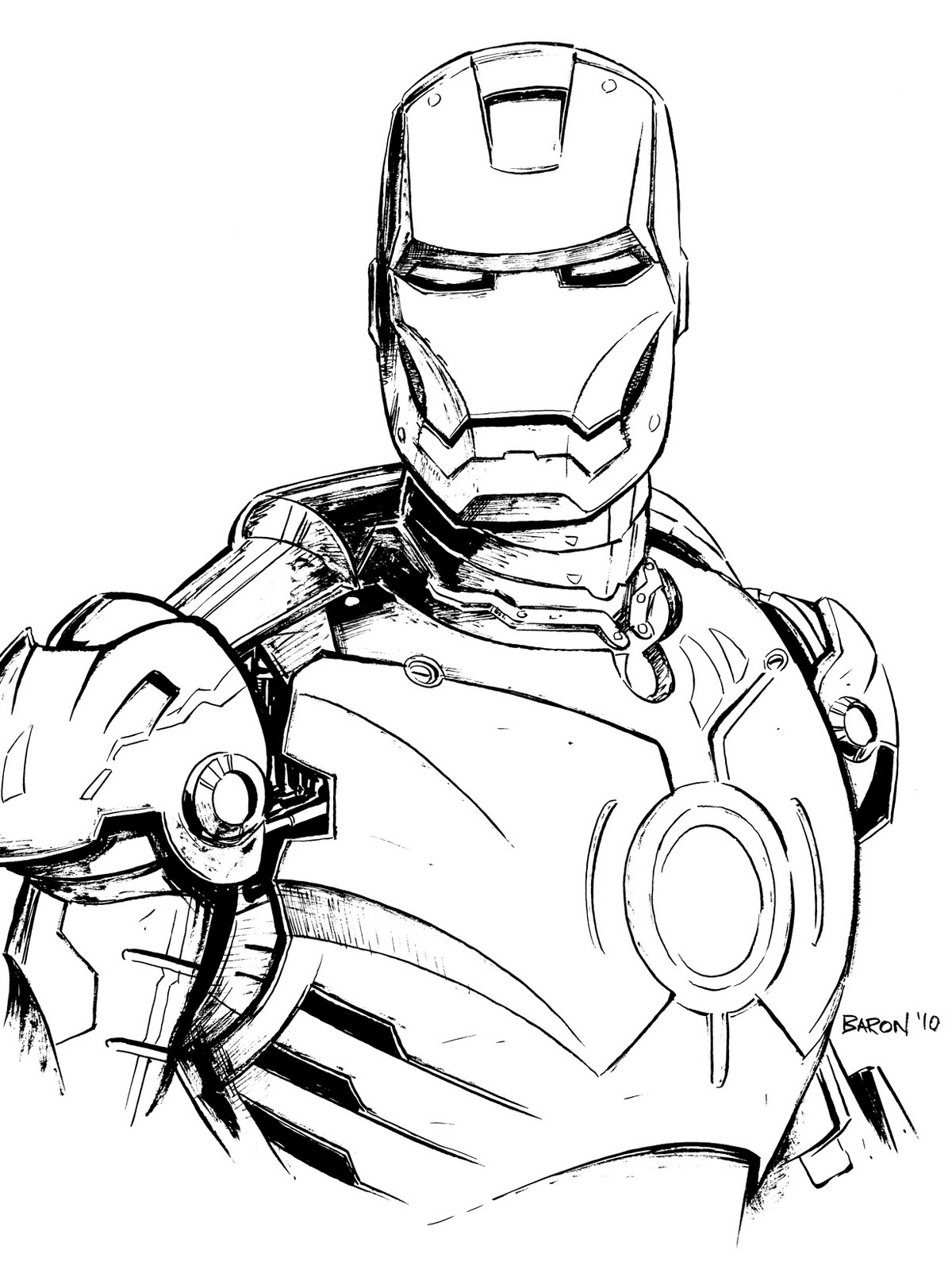 ironman colouring free printable iron man coloring pages for kids ironman colouring 1 2