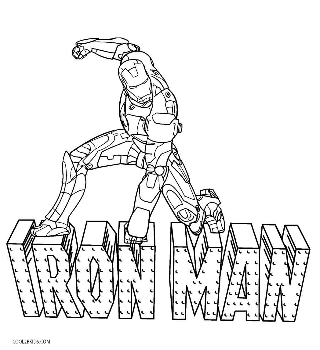 ironman colouring iron man coloring page coloring pages for kids colouring ironman