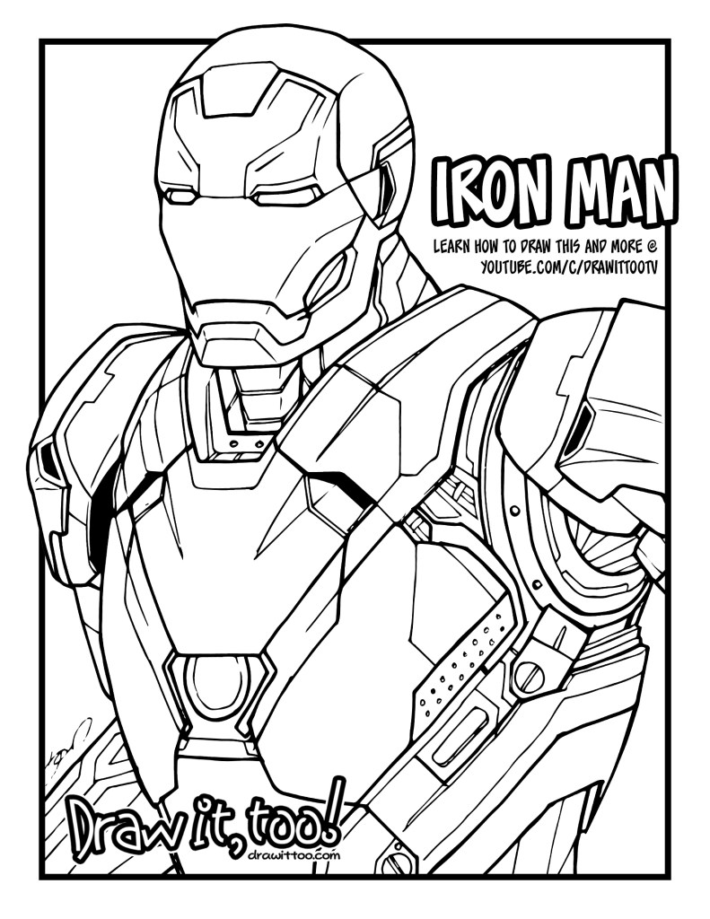 ironman colouring iron man coloring page free printable coloring pages ironman colouring