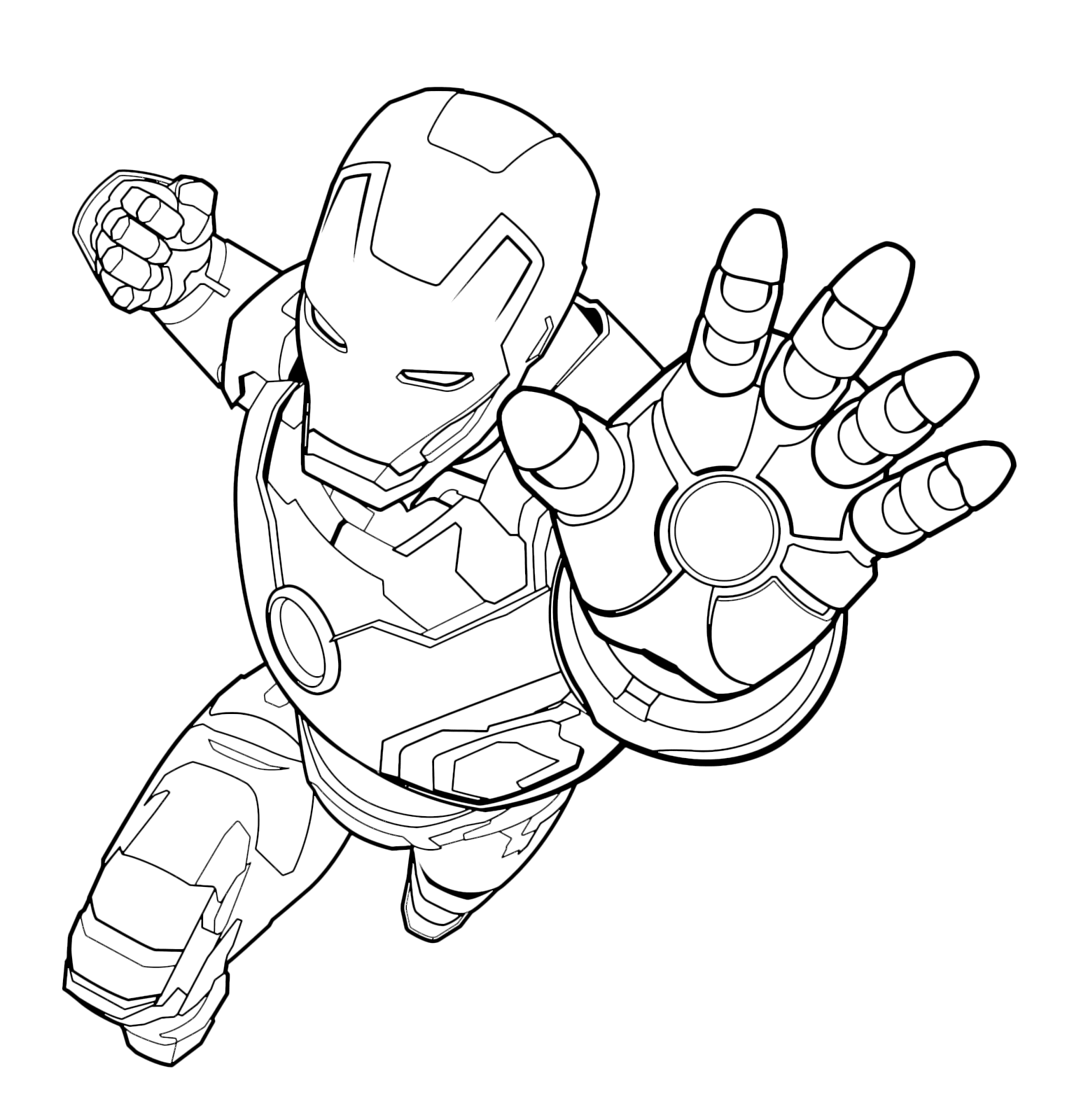 ironman images to color ironman images to color images ironman color to