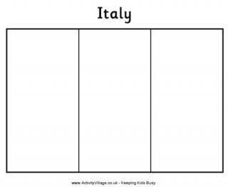 italy flag coloring page italy flag printables for kids coloring italy page flag