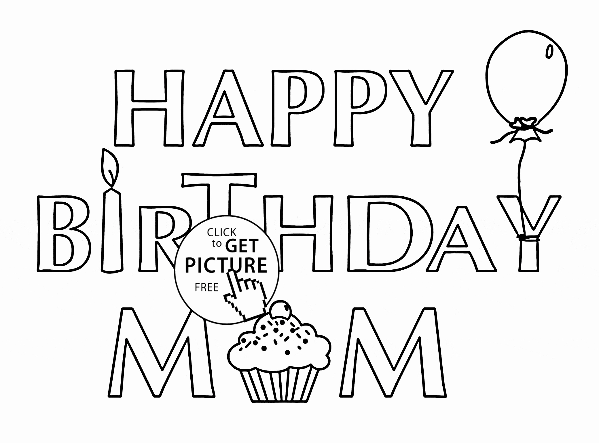 its my birthday coloring pages happy first birthday kiddicolour coloring pages my birthday its