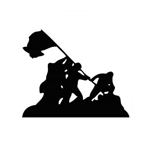 iwo jima silhouette vector cowboy with lasso vector royalty free stock images image vector iwo jima silhouette