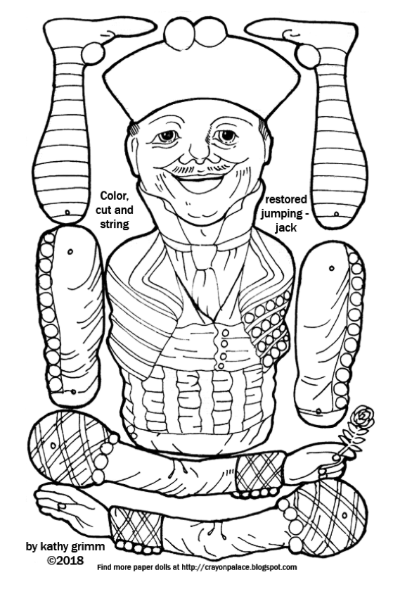 jack and rose coloring pages color a jumping jack jester crayon palace rose pages coloring and jack