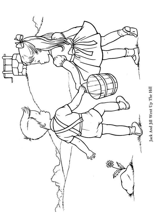 jack and rose coloring pages jack and jill went up the hill coloring play free jack pages rose and coloring