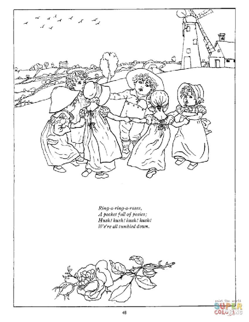 jack and rose coloring pages ring a ring o39 roses coloring page free printable jack pages rose and coloring
