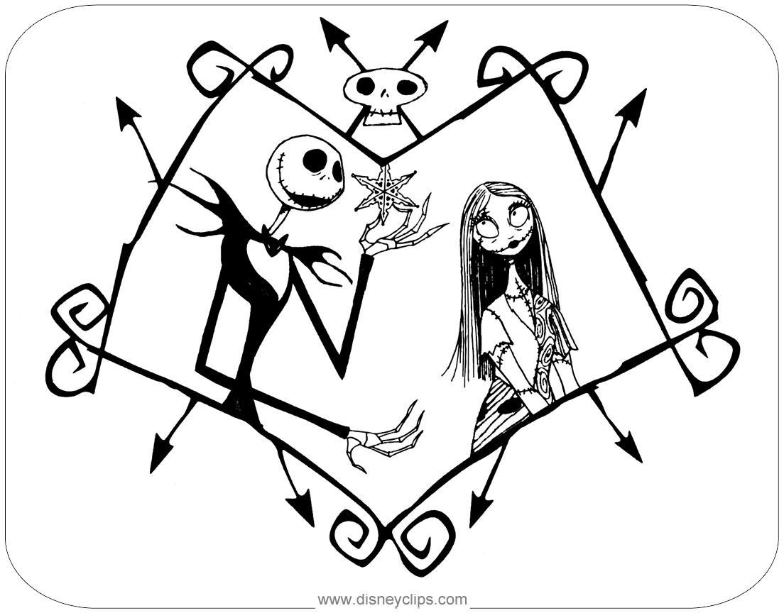 jack and rose coloring pages the nightmare before christmas coloring pages jack rose and coloring pages