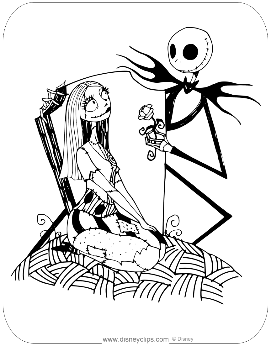 jack and rose coloring pages the nightmare before christmas coloring pages rose and jack pages coloring