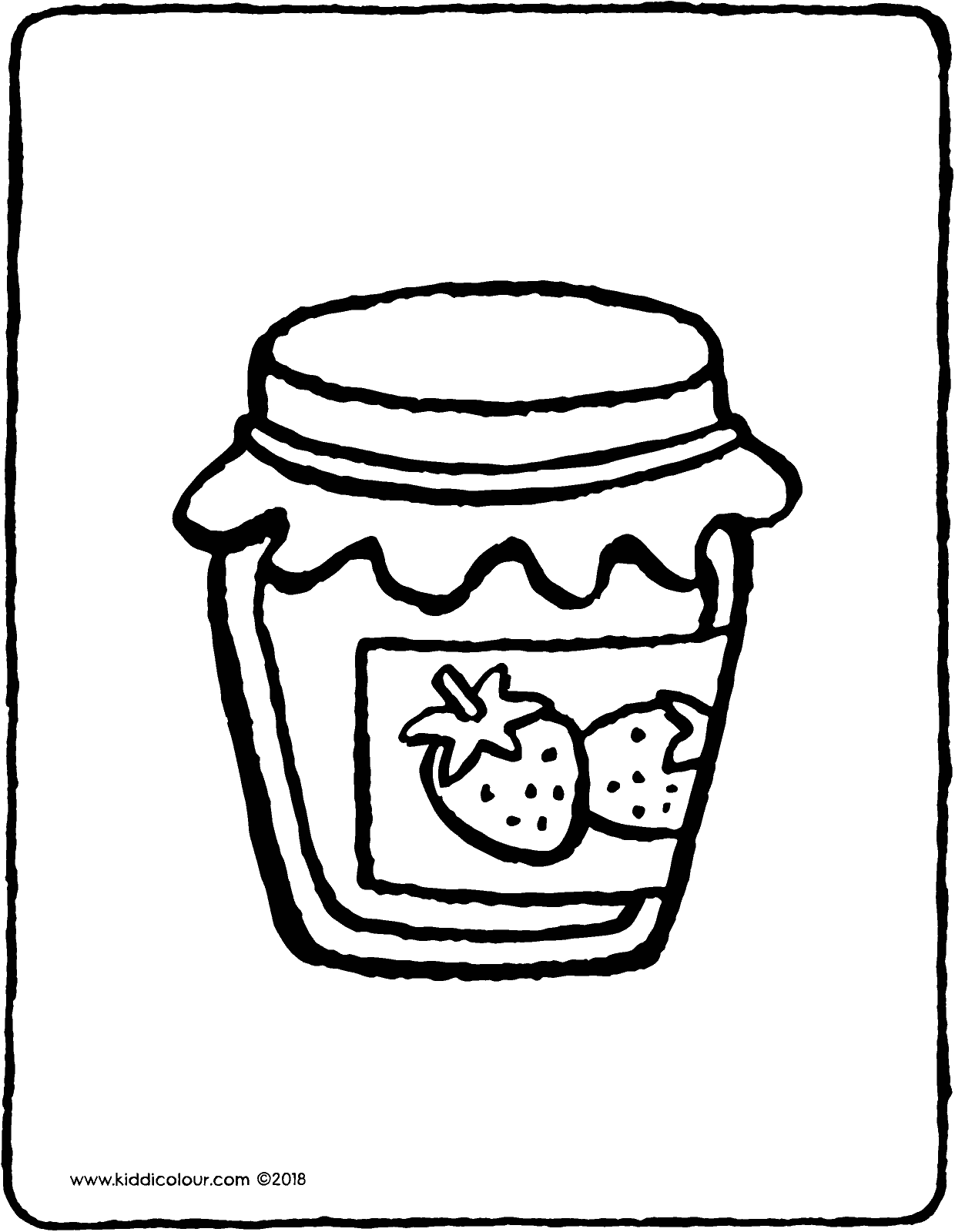 jam coloring page jam clipart coloring jam coloring transparent free for page jam coloring