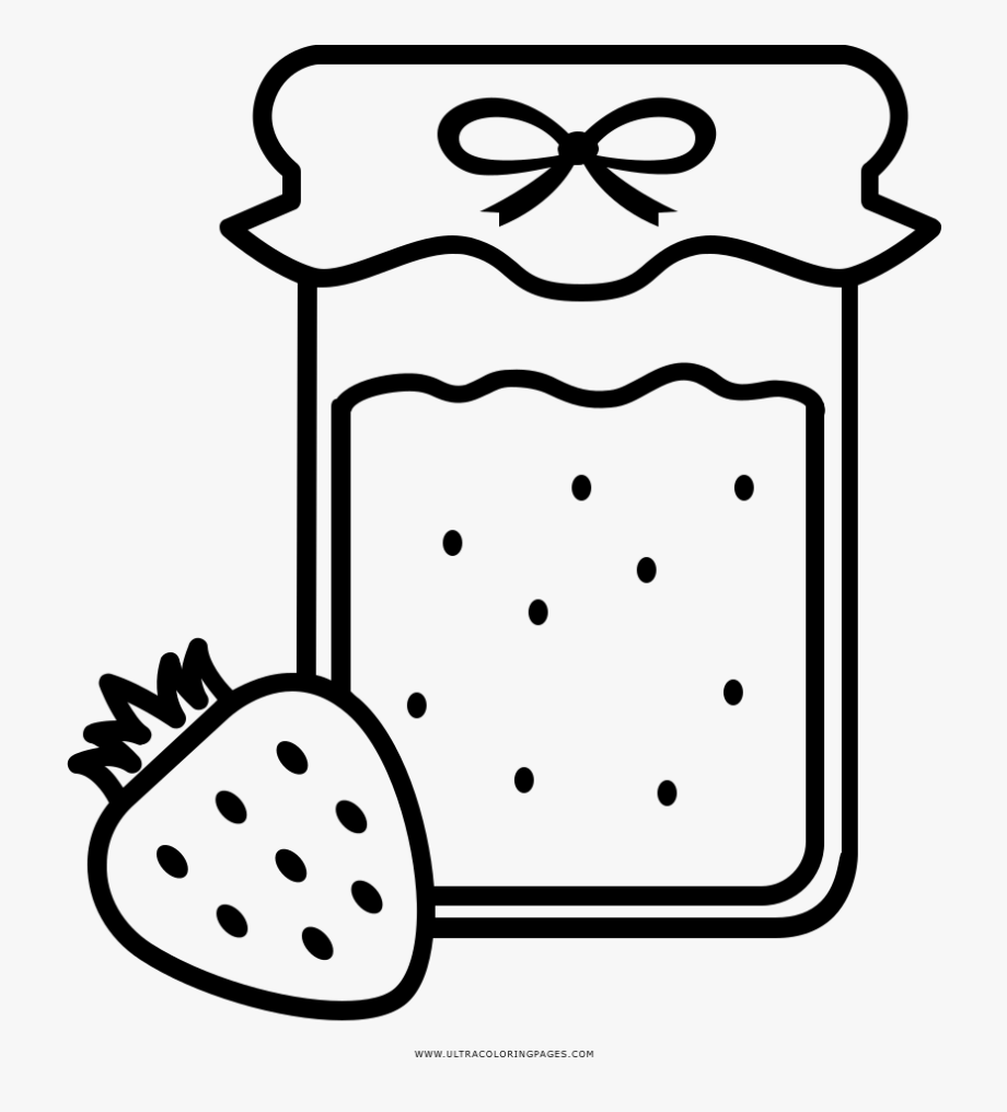 jam coloring page jelly jar coloring pages page jam coloring
