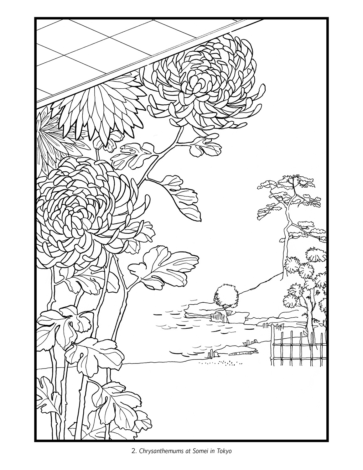 japanese coloring book pages hiroshige flowers japanese colouring book coloring book pages japanese