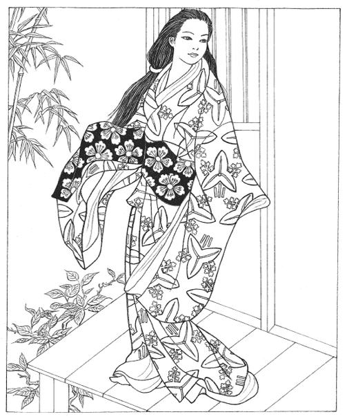 japanese coloring book pages japanese coloring books for adults cleverpedia japanese coloring pages book