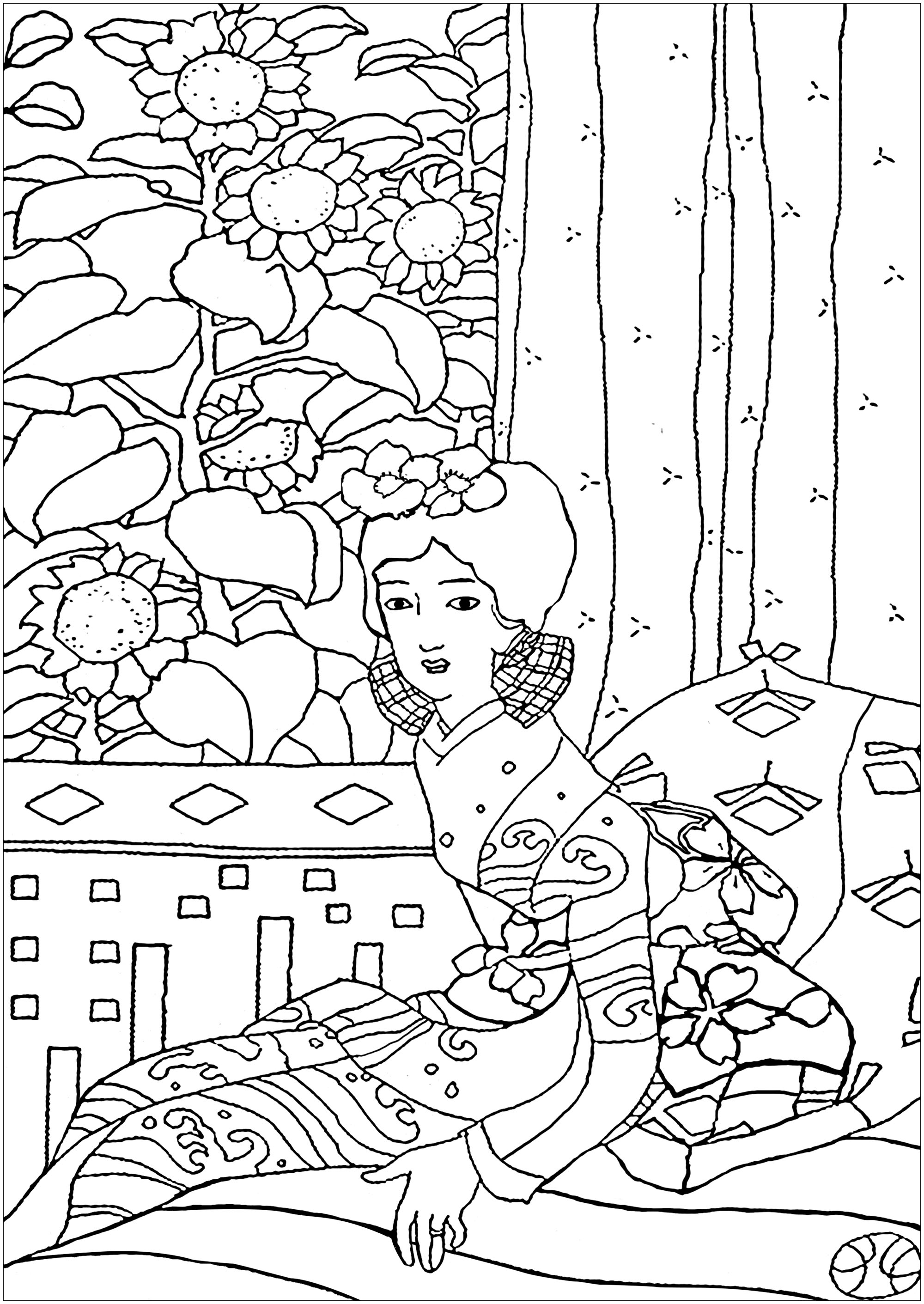 japanese coloring book pages japanese drawing japan adult coloring pages page 2 pages japanese coloring book
