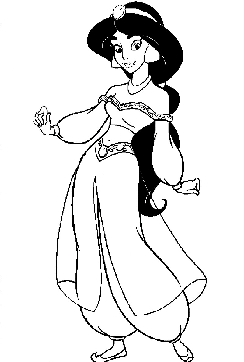 jasmine coloring sheets jasmine coloring pages free printable high quality jasmine coloring sheets