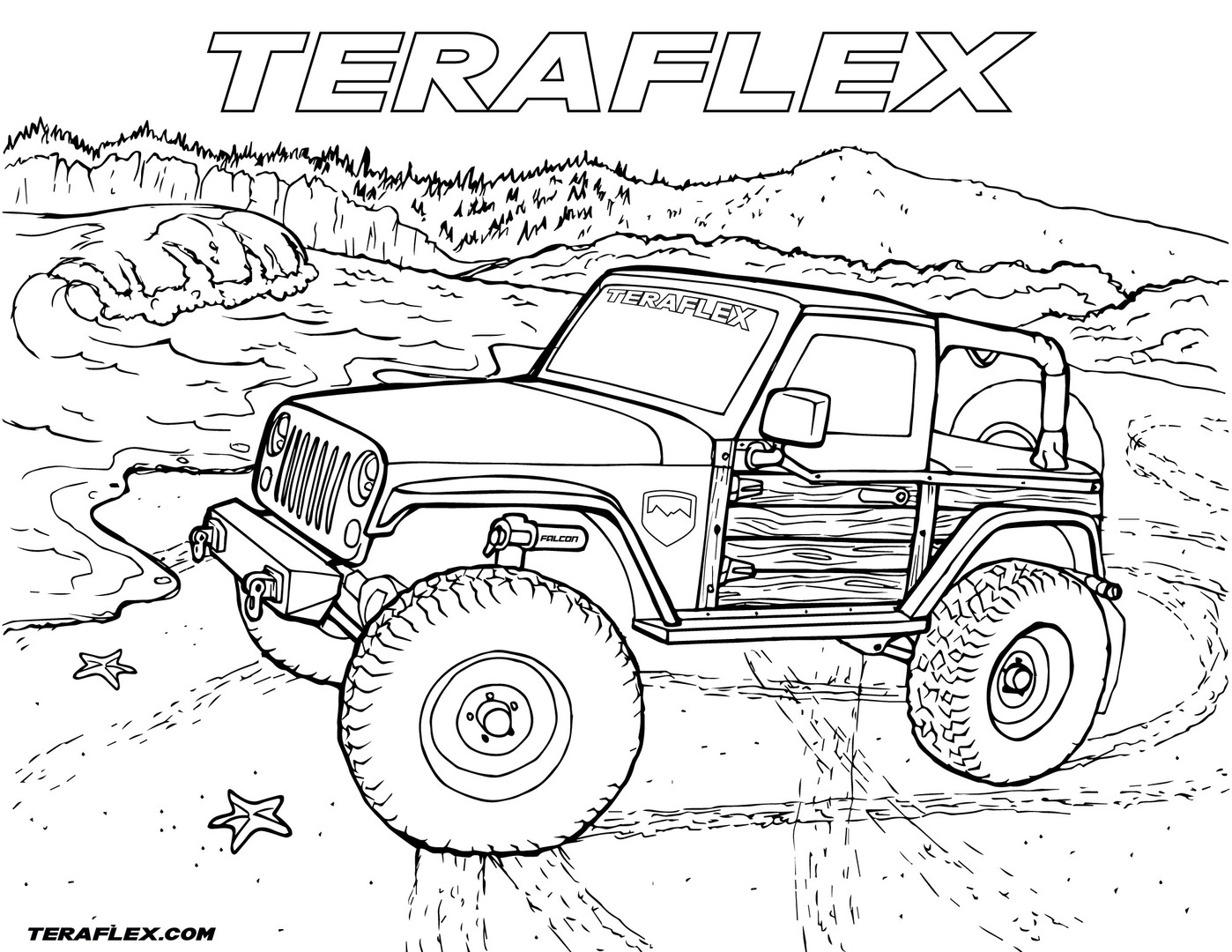 jeep coloring page jeep cherokee pages coloring pages coloring page jeep