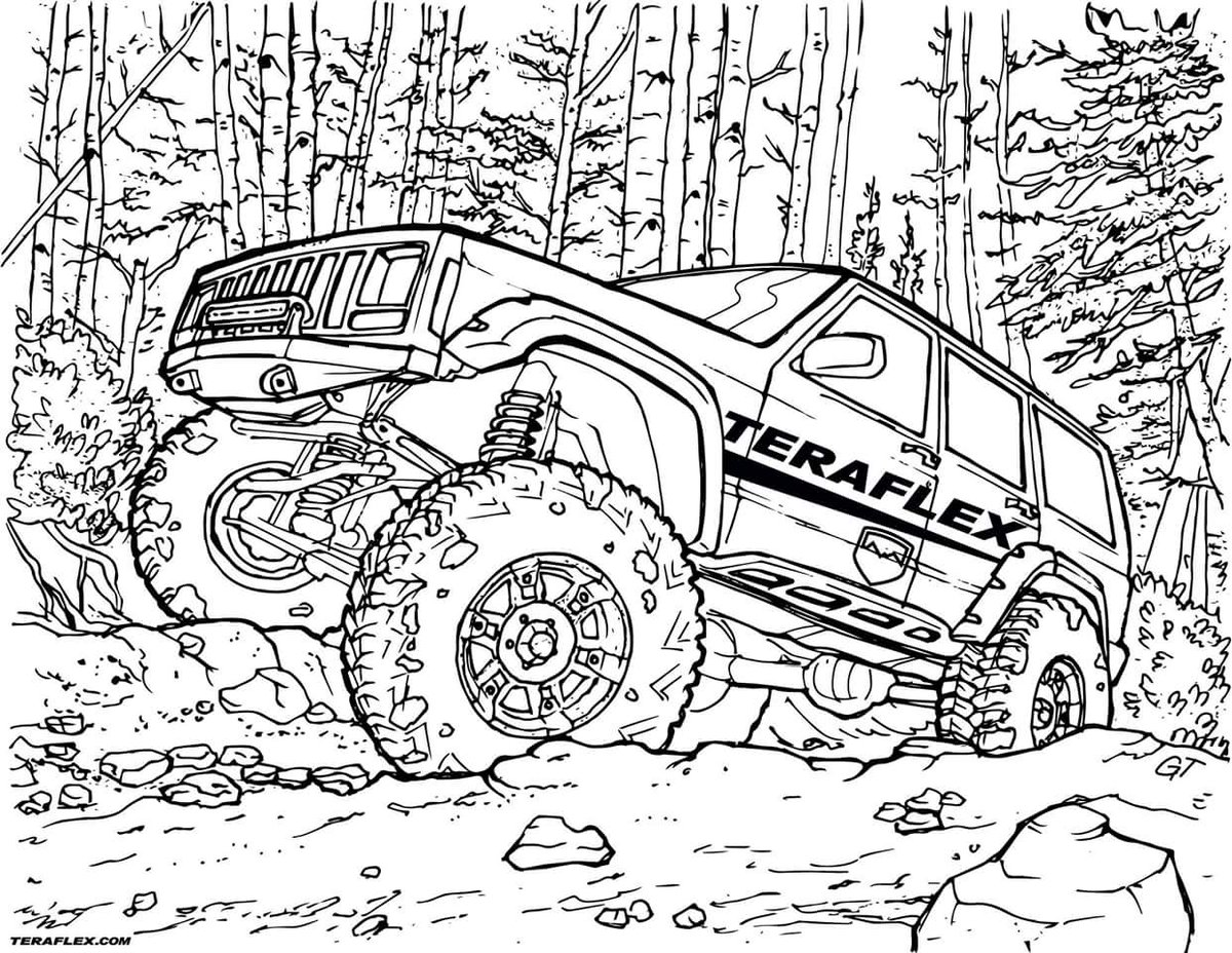 jeep coloring page jeep coloring pages for kids top free printable coloring jeep coloring page