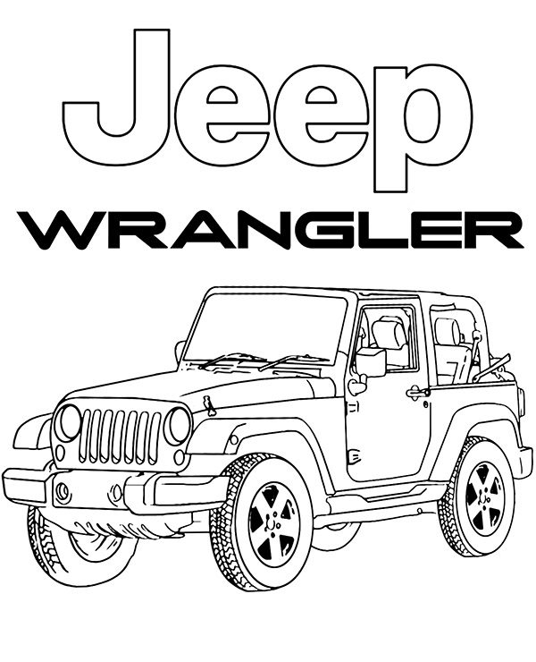 jeep coloring page jeep coloring pages to download and print for free jeep coloring page 1 1