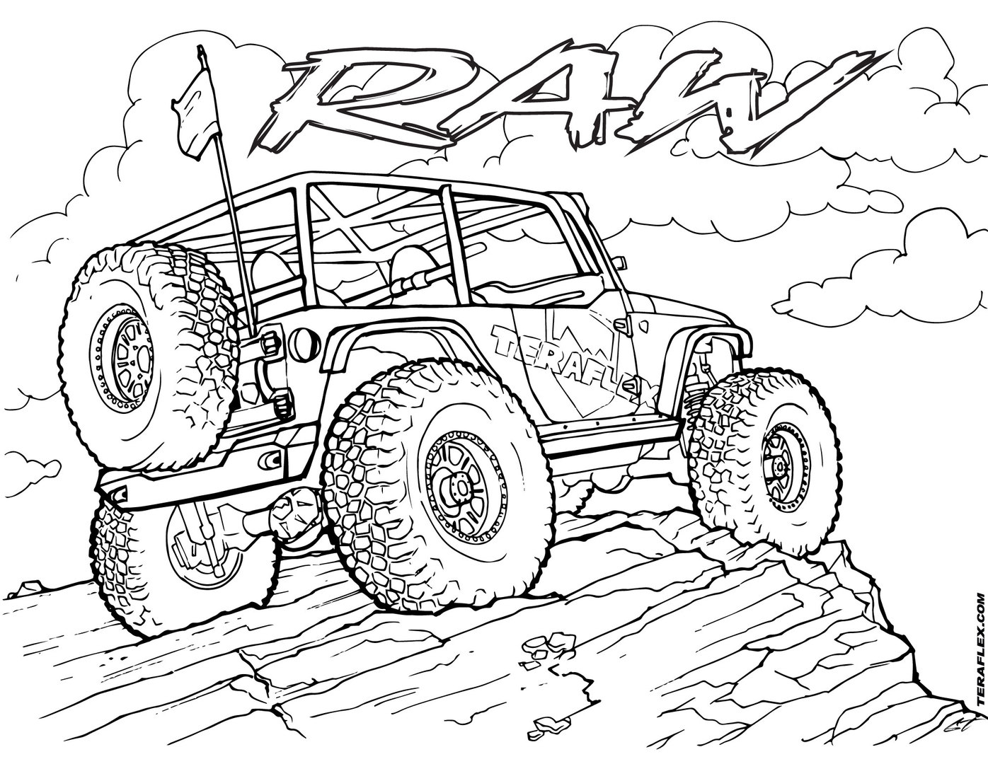 jeep coloring page jeep wrangler coloring sheet 2019 open coloring pages coloring jeep page