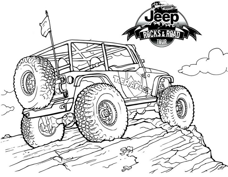 jeep coloring page military jeep coloring pages coloring home jeep page coloring