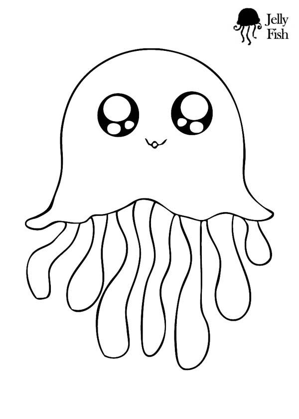 jellyfish drawing for kids cute jellyfish and seahorse coloring pages big bang fish jellyfish for kids drawing