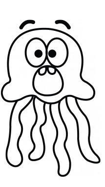 jellyfish drawing for kids jellyfish drawing clipart best kids drawing for jellyfish