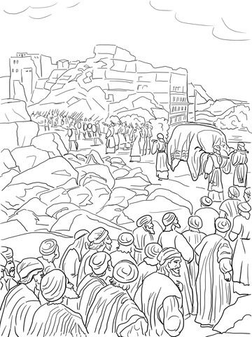 jericho walls coloring page the fall of jericho coloring page jericho walls coloring page