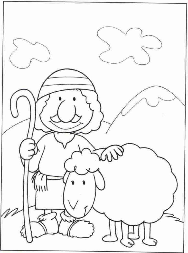 jesus the shepherd coloring pages bible story coloring page for jesus our shepherd free coloring shepherd pages the jesus