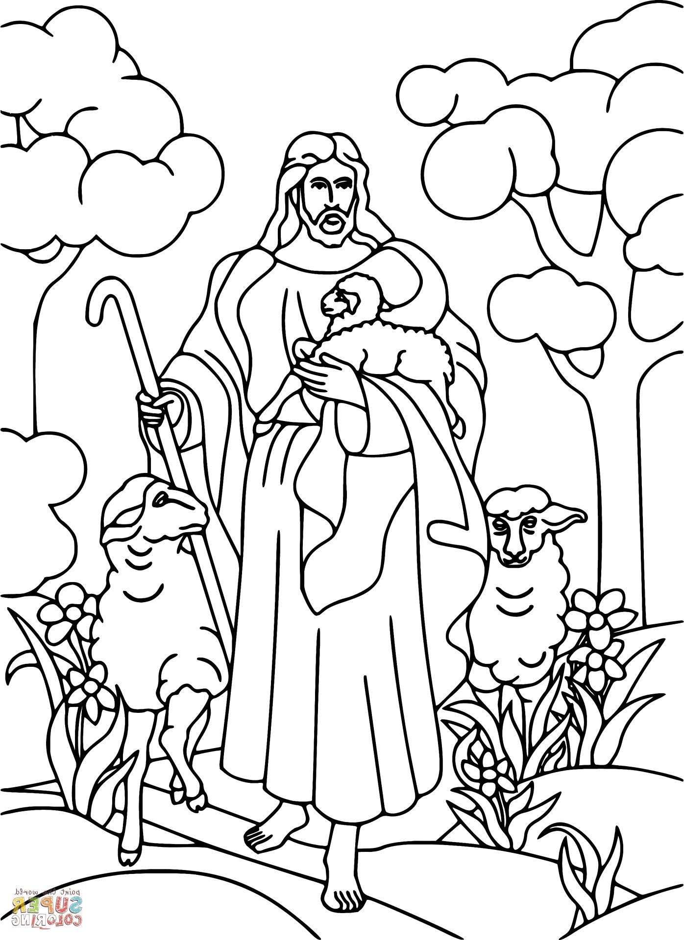 jesus the shepherd coloring pages jesus the good shepard coloring page jesus coloring shepherd coloring jesus the pages