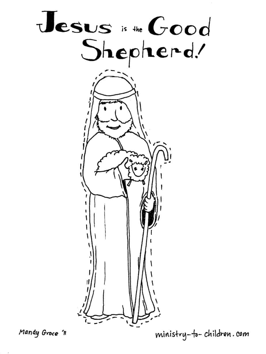 jesus the shepherd coloring pages jesus the good shepherd coloring pages at getcoloringscom coloring shepherd pages jesus the