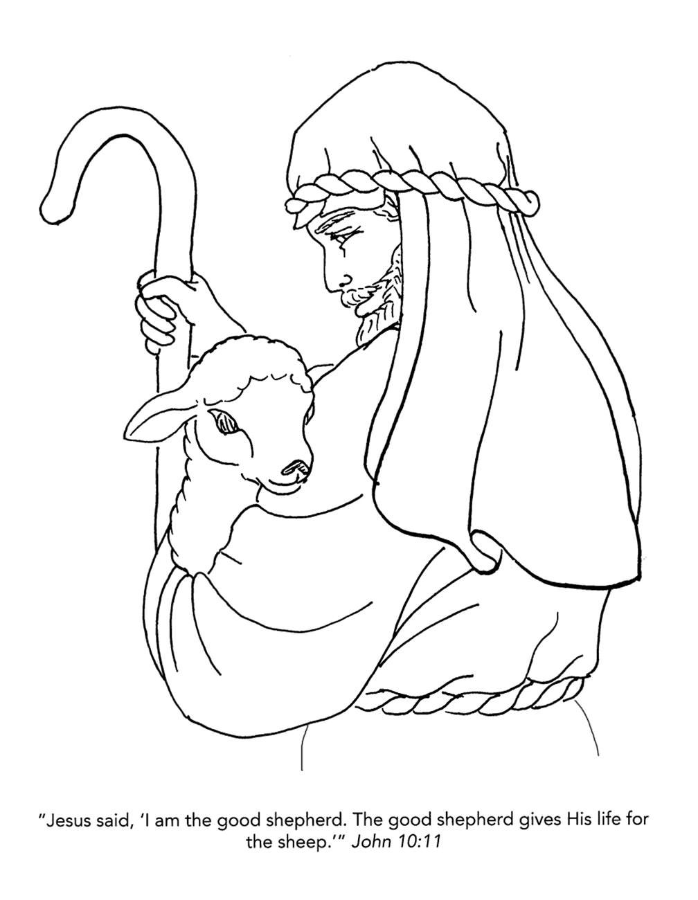 jesus the shepherd coloring pages nativity coloring pages nativity coloring pages the coloring jesus shepherd pages