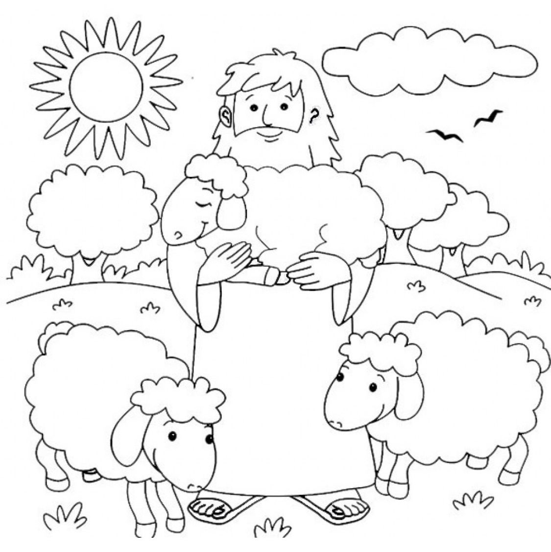 jesus the shepherd coloring pages the parable of the good shepherd 1 jesus coloring pages pages the coloring shepherd jesus