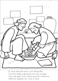 jesus washes the disciples feet coloring page coloring pages of jesus washing his disciples feet page disciples jesus feet coloring washes the